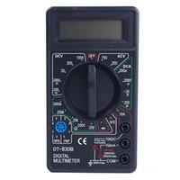 Wholesale New LCD Digital Tester Voltmeter Ammeter Resistance Ohmmeter Multimeter DT830B