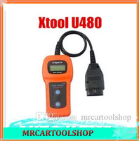 Wholesale 2014 Top Rated High Quality U480 OBD2 Diagnostic scan tool U480 Code Reader for VW U480 Scanner