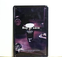 Wholesale Guinness BEER tin sign metal poster adverte sign beer Tin Signs Decor Home Club Bar x30cm Be20