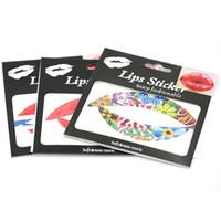 Wholesale Temporary Tattoos Lip Tattoo Stickers For Lip Art Lips Sticker Waterproof Sexy Fashionable mm JYC01