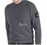 Wholesale hot new High quality Stone Brands Twist sweater knitting Winter Men s O Neck Cotton Sweater Jumpers pullover sweater men