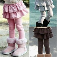baby cakes trousers - Kids Girls Leggings for Autumn Winter Baby Girl Skirt pants Cake Skirt Tights Children Infant Thick Fleece Leggings Pants Trousers Colors