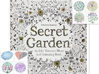 Wholesale New Secret Garden Colouring Book An Inky Treasure Hunt by Johanna Basford for Kids Adult