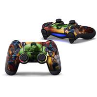 al por mayor piel ps4-Envoltura de la etiqueta de la piel de la etiqueta para PS4 Regulador de Playstation 4 Regulador de Dualshock 4