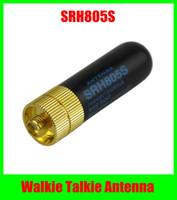 achat en gros de quansheng tg uv2 antenne-SRH805S SMA-F Femelle UHF+VHF Antenne pour TK3107 2107 PUXING QUANSHENG Baofeng UV-5R TG-UV2 talkie-walkie Livraison Gratuite