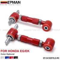 adjustable camber arms - EPMAN Control Arm RACING REAR ADJUSTABLE CAMBER ARMS KIT FOR Honda CIVIC Black Blue Red Sliver EP CA1029TZLG