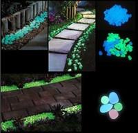 Wholesale 500g Glow in the dark stones for FISH TANK AQUARIUM Garden glower pot luminous stones