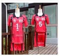 high school uniforms - Haikyuu Nekoma High School No Kenma Kozume Cosplay Costume Volleyball Team Jersey No Kuroo Tetsurou Sports Wear Uniform