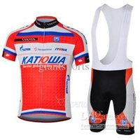 Wholesale Comofrtable Cycling jersey red short sleeve cycling clothing cycling bib short kits Anti Wrinkle cycling clothing sets