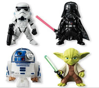 2015 star wars Action Figures Darth Vader Storm Trooper Figurines blanc Cavalerie Black Knight Yoda avec la boîte E194