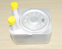 audi oil cooler - 100 Brand factory cheap New Oil Cooler for AUDI AUDI A3 A5 S5 A6 S6 Q5 Q7 TT TDI L L order lt no track