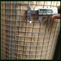 wire mesh fence - Welded Mesh Fence With Iron Wire Material Square Wire Mesh mm With Waterproof Paper Packing