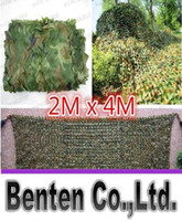 Wholesale New M X M Military Camouflage Net Woodlands Leaves Camo Cover For Hunting Camping LLFA36