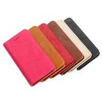 Wholesale 2014 New Solid High Quality Wallet Flip Leather Stand Up Protect Shell Skin Cover Case for Apple iPhone