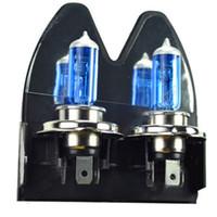 Wholesale New H4 K Xenon Car HeadLight Bulb Halogen Light Super White V W Hrs Life
