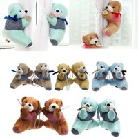 Wholesale Hot Sale Pair Bear Winne Window Curtain Tieback Buckle Clamp Hook Fastener Cute Decor