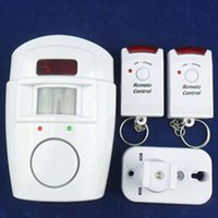 Wholesale 2015 Alarm systems New Home Motion Sensor dB Alarm with Remote Control Security Alarm system