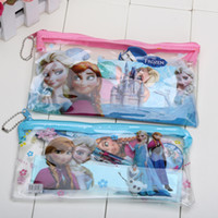 Wholesale 20 set Frozen pencil Stationery gift set pencil case ruler sticker Gift