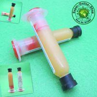Wholesale 10Pcs Welding flux Solder Paste PCB SMD BGA Mechanic Soldering Paste Flux Cream Welding Oil RMA RMA BGA Grease Syringe A2