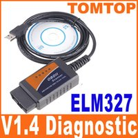 Wholesale V1 ELM327 USB OBD2 CAN BUS car Diagnostic Interface Scanner scanners obd2