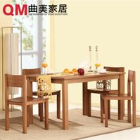 Wholesale Simple modern dining room furniture mensal chair combination a table for four chairs