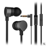 Cheap Wholesale-High Quality Stereo Bass Headset In Ear Metal Zipper Earphones Headphones with Mic 3.5mm MP3 For lenovo k900 huawei honor 3c