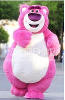 bear toy story - Factory direct sale Fashion New Korean Pink Bear Lotso Toy Story Mascot Costume Fancy Dress