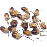 acorn fruit - 10PCS mm Headband Acorn fruitFalse simulation fruit plastic model photography props simulation acorns