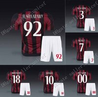 abate soccer - 15 AC milan new home soccer jersey uniforms Torres Kaka montolivo el shaarawy de siglio honda Menez Abate alex include jersey and short