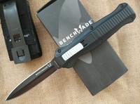 bench sets - 10 styles all in stock Bench made BM BK BK Infidel tactical Knife Plain EDC pocket survival knife knives with nylon sheath