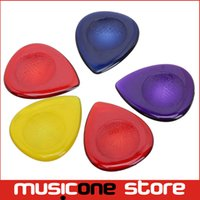 Wholesale 100pcs Original Alice AP JM mm Durable Clear Water drop Transparent Guitar Picks Plectra MU0288