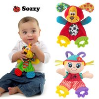 Wholesale S Baby Infant Preferred Soft Appease Towel Toys Calm Doll Teether Developmental kids Potties