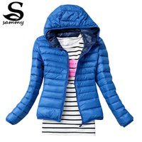 Wholesale New Fashion Casual Windbreaker Down Winter Women s autumn and winter women s Candy colored Coat Outerwear Jackets