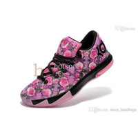 Cheap Discount Men Basketball Shoes Swingman Kevin Durant KD VI 6 Basketball Shoes Mens Athletic Shoes size 40-46 Five Colors Sports Shoes On Sale