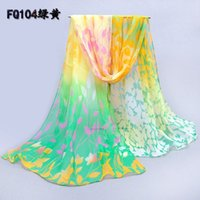 Wholesale 2016 new chiffon scarf scarf ladies flowers summer sun towel scarf shawl and collocation