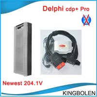 Cheap Hot selling Delphi DS150E New VCI cdp+ 2014 Release 2 newest software free keygen Cdp plus pro for cars & trucks DHL Fedex Free Shipping