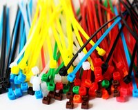 Wholesale Color cable tie cable with cable ties is high temperature resistant cable tie