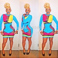 Cheap 2015 Fashion Keyshia Kaoir's Brush Multi Color Prom Dresses Celebrity Bodycon Dress Hollow Out Sexy Club Wear Bandage Dresses