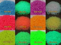 Cheap 12-24M rainbow loom bands refill Best Multicolor Silicone Loom band kit