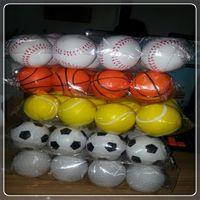 basketball entertainment - new arrival PU toy balls Baseball Soccer volleyball Basketball for outdoors fun entertainment