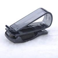 Cheap Hot Sale ABS Car Vehicle Sun Visor Sunglasses Eyeglasses Glasses Ticket Holder Clip Free Shipping Y50*MPJ132#M5