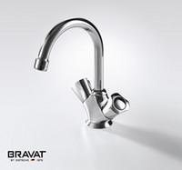 faucet - Double handle Brass body basin tap elegant design basin faucet