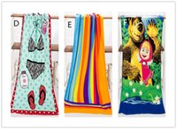 Wholesale Fashion Hot cm Absorbent Microfiber Bath Beach Towel Drying Washcloth Swimwear Shower For Gift
