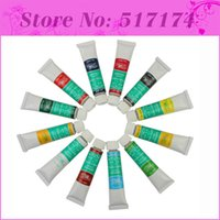 acryl tube - Colors Tube Acryl Paint Manicures DIY Pigment Nails Painting Beauty Kits