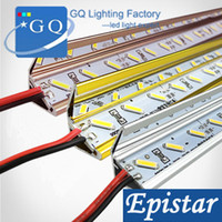 Wholesale 10pcs hot sale DHL Fedex LED Bar Light U V Groove Jewelry lamp table light LED Rigid Strip Bar Light DC V