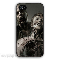 apple zombies - The Walking Dead walkers zombies hard plastic mobile phone bags cases cover for iphone s s c plus