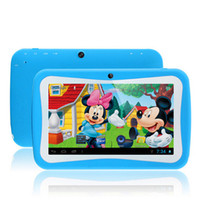 best educational pc games - Best cute Kids tablet inch Quad Core RK3126 Android Tablet PC for Children Dual Cam Educational Games App for Birthday Gift