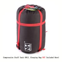 Wholesale Outdoor Lightweight Sleeping Bag Pack Compression Stuff Sack High Quality Storage Carry Bag For Camping Hiking Mountaineering