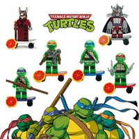 Wholesale Building Blocks TMNT Ninjago Teenage Mutant Ninja Turtles Super Heroes The Avengers building blocks