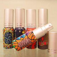 Glass mini perfume atomizer - 6ml MINI Empty Perfume Atomizer Refillable Pocket Fragrance Scented Bottles Glass Essential Oil Vials Sprayer Bottle Promotion